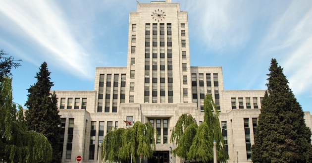vancouver city hall front