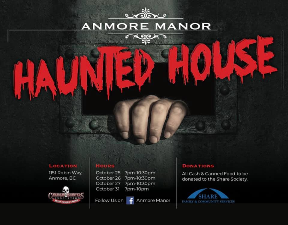 anmore manor poster